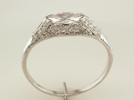 Wedding Ring Mounts 25 Marvelous Marquise diamond ring horizontal